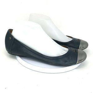 Coach Women Chelsea Dark Blue Flats Shoe Size 9